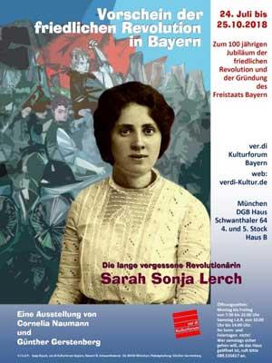 Die lange vergessene Revolutionärin Sarah Sonja Lerch