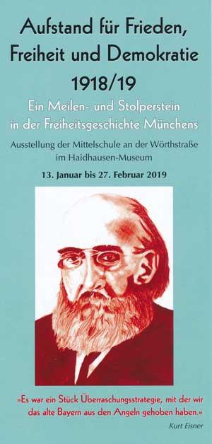 Aufstand für Frieden, Freiheit und Demokratie 1918/19