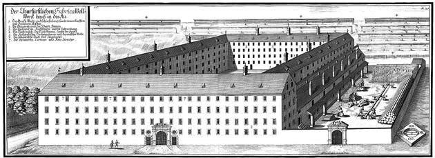 Kurfürstliche Wollwerkfabrik in der Au