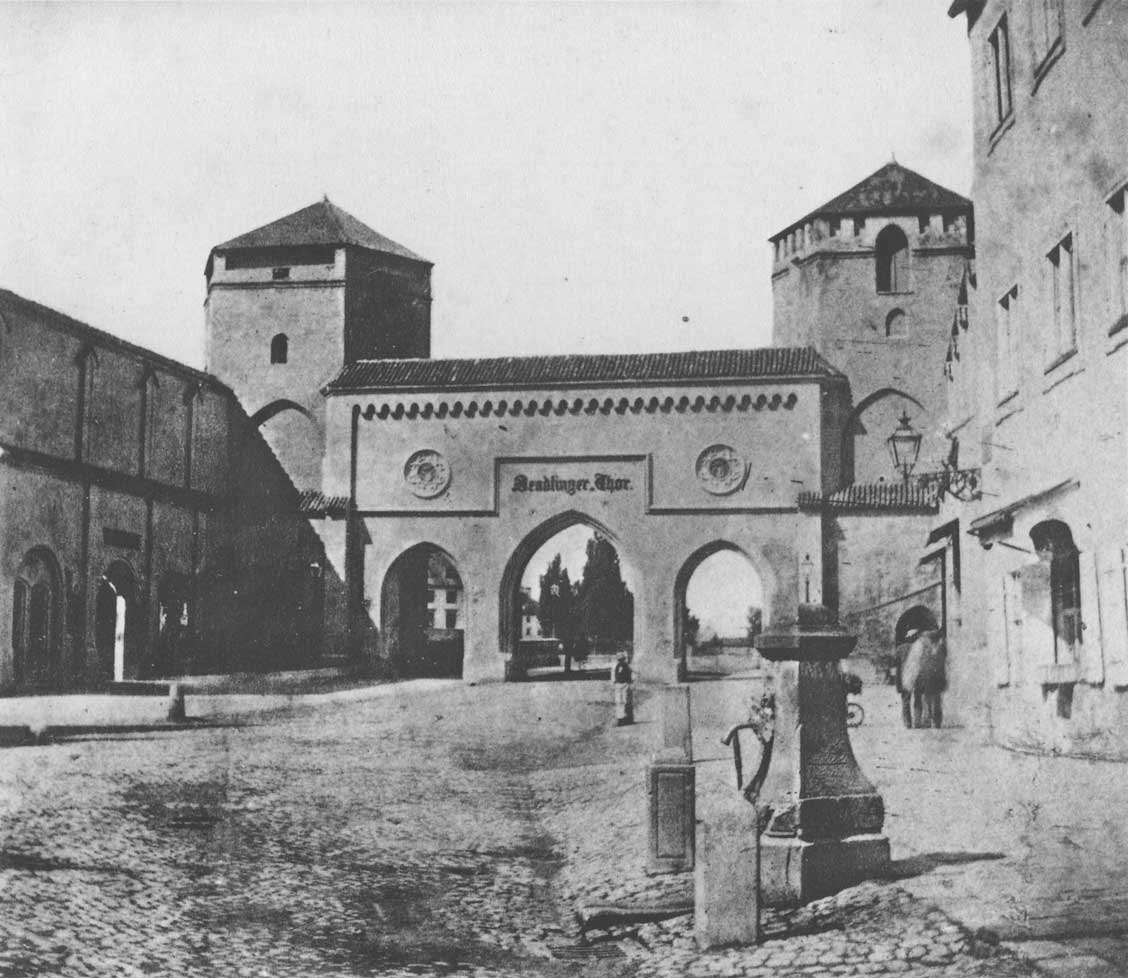 Sendlingerstraße und das Sendlinger-Tor
