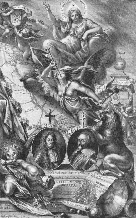 Kurfürst   Maximilian I. und Kurfürst Maximili