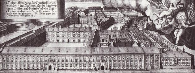 Ansicht der Kurfürstlichen Residenz