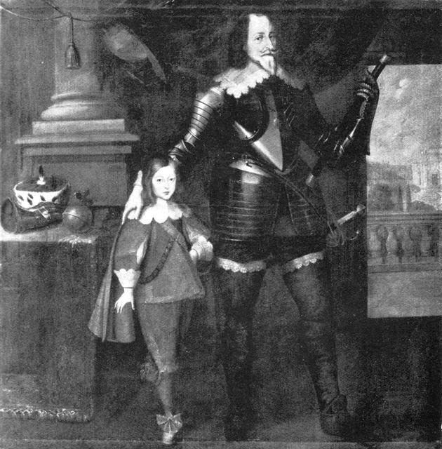 Kurfürst Maximilian I. mit dem Erbprinzen Ferdian