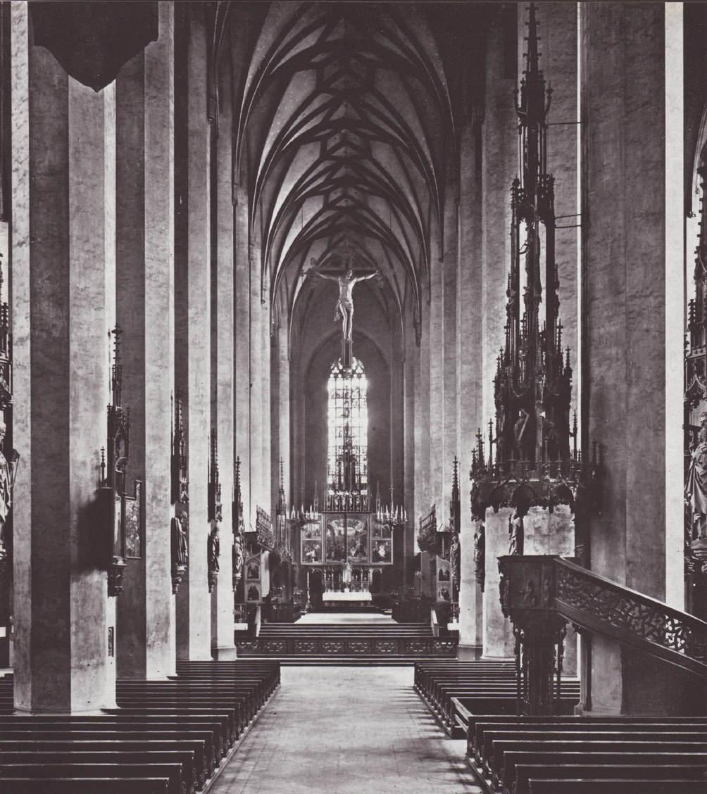 Das Innere der Frauenkirche