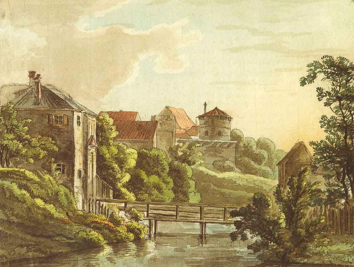 Stadtgraben am Einlaß
