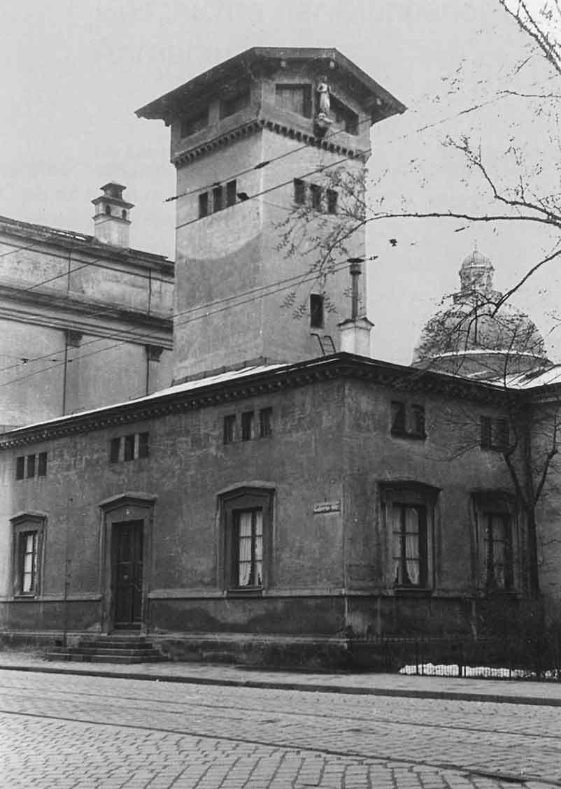 Hofbrunnhaus an der   Galleriestraße