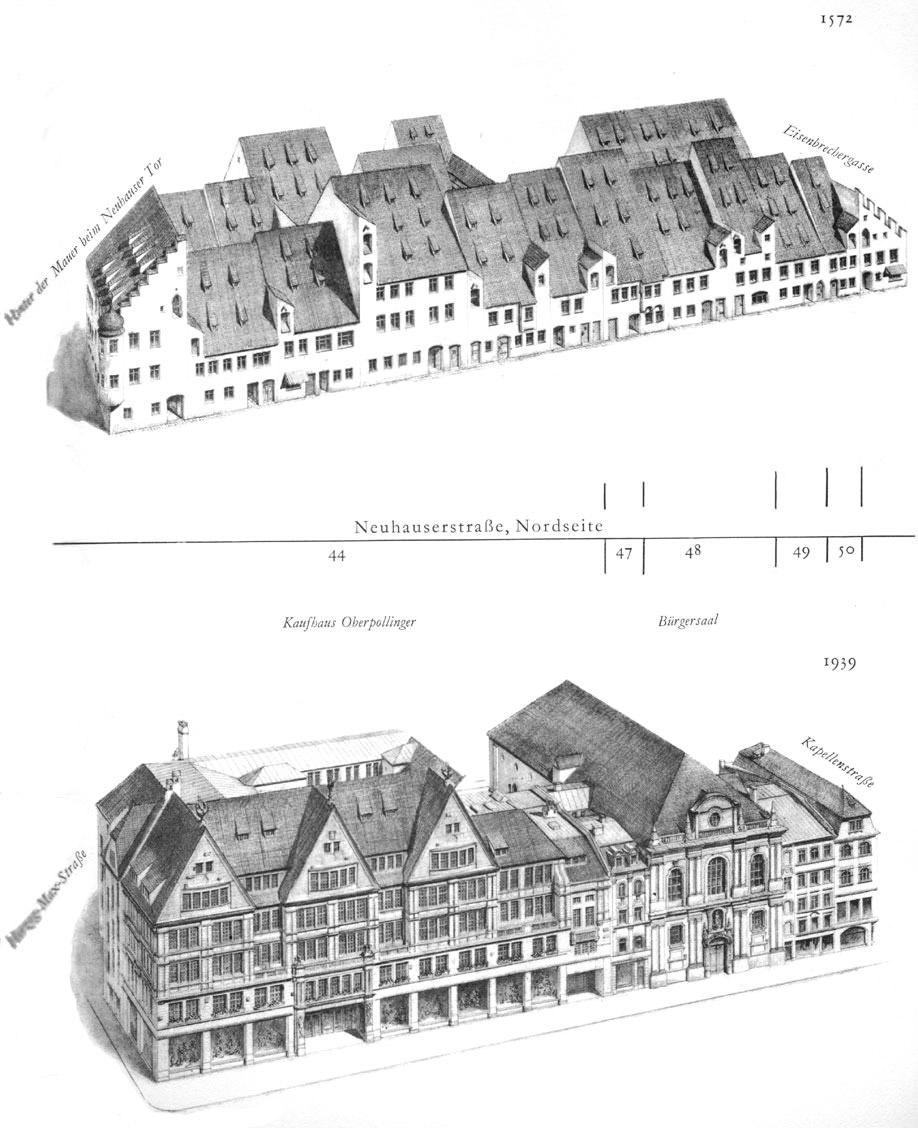 Neuhauserstraße,   Nordseite