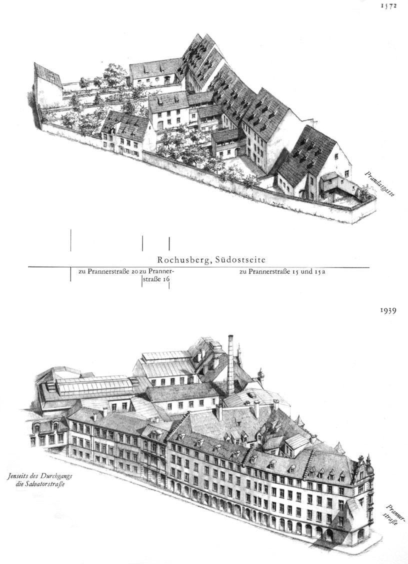 Rochusberg, Südostseite