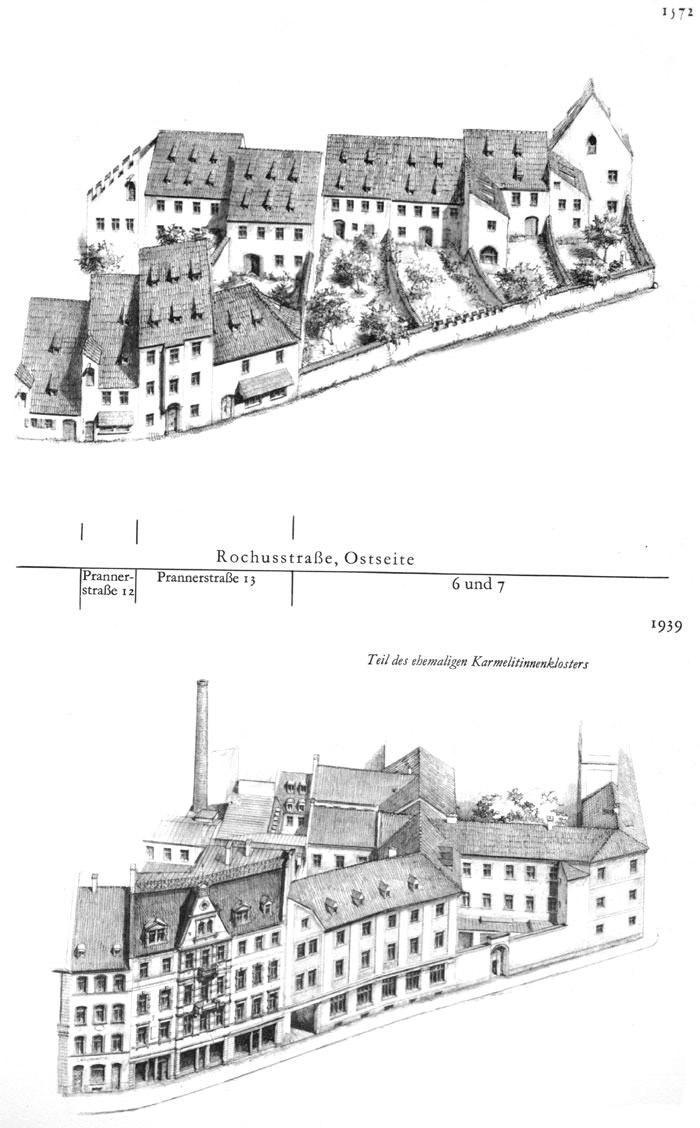 Rochusstraße, Ostseite