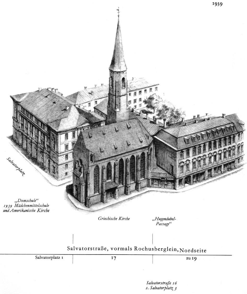 Salvatorstraße, Nordseite