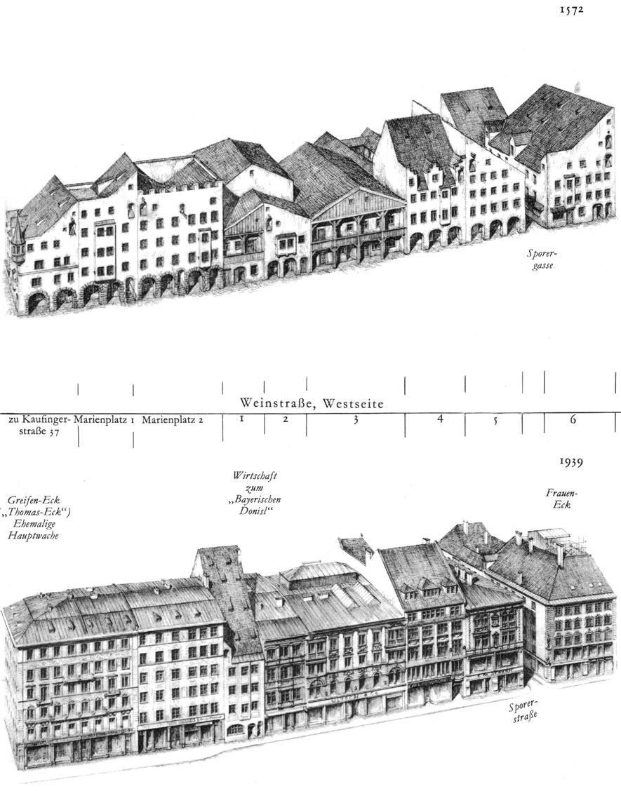 Weinstraße, Westseite