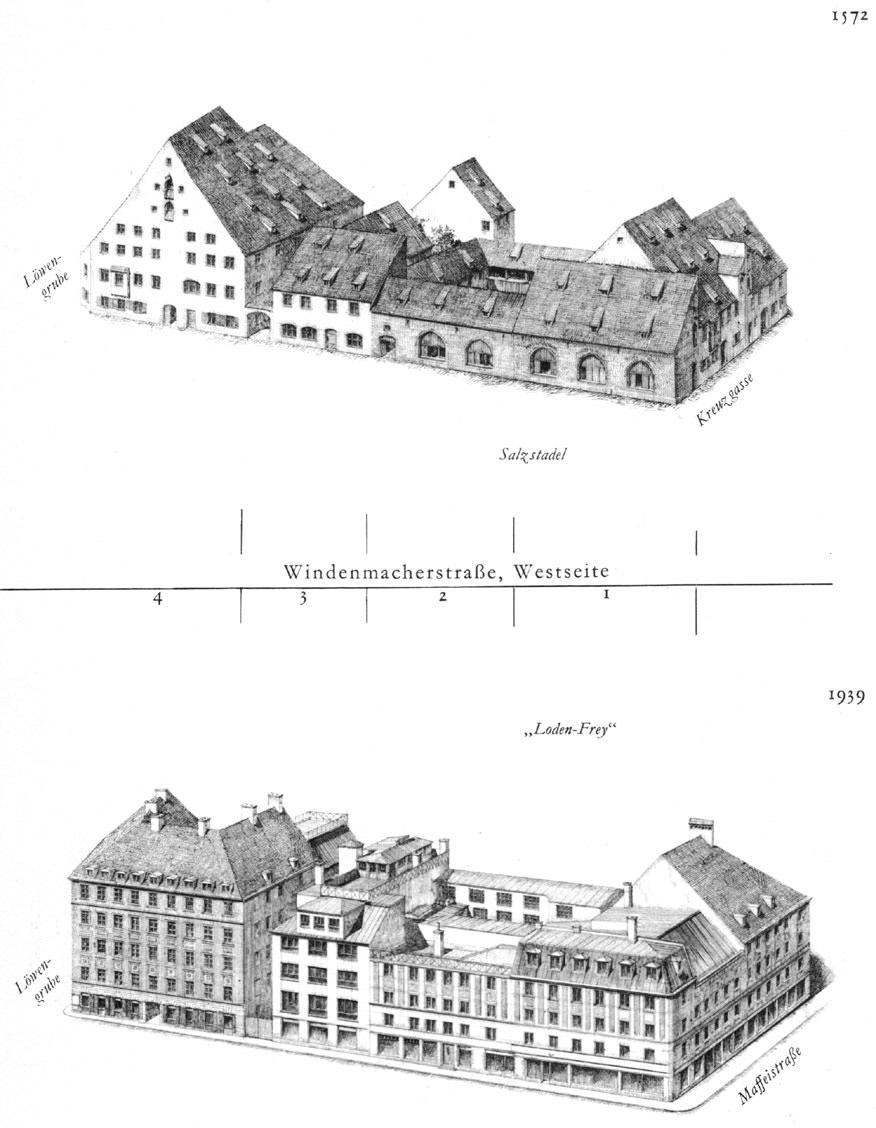 Windenmacherstraße, Westseite