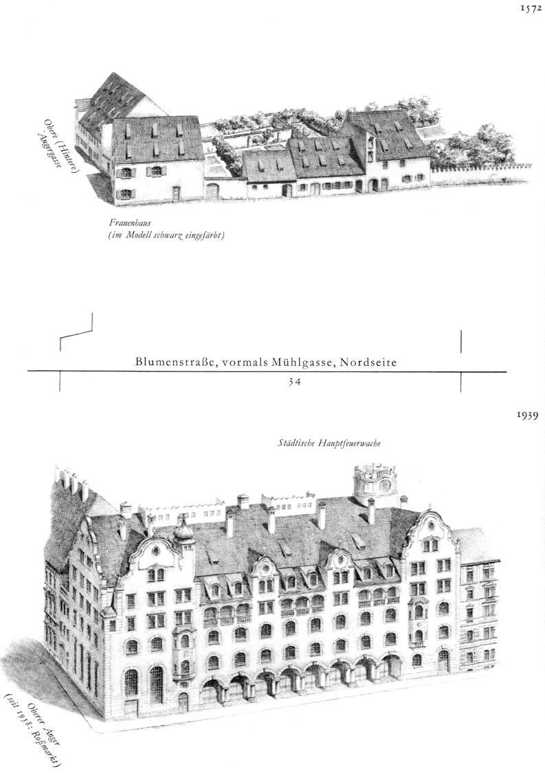 Blumenstraße, Nordseite