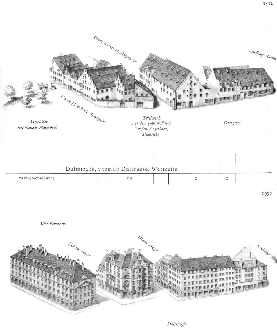 Dultstraße,   Westseite