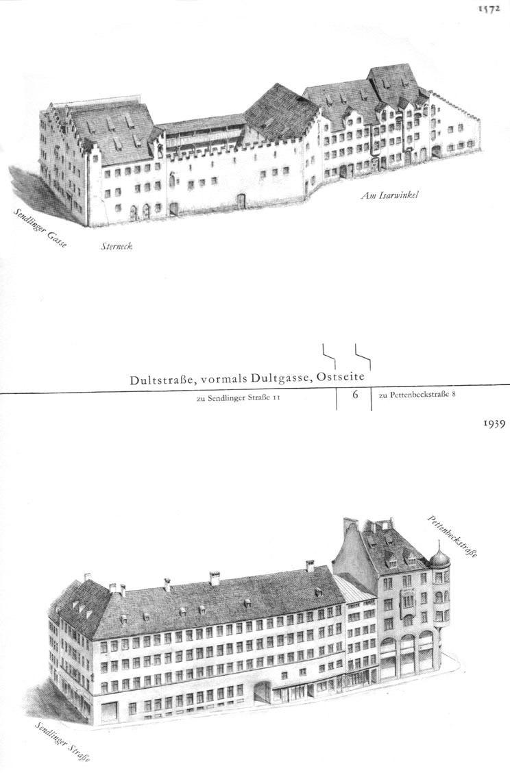 Dultstraße, Ostseite