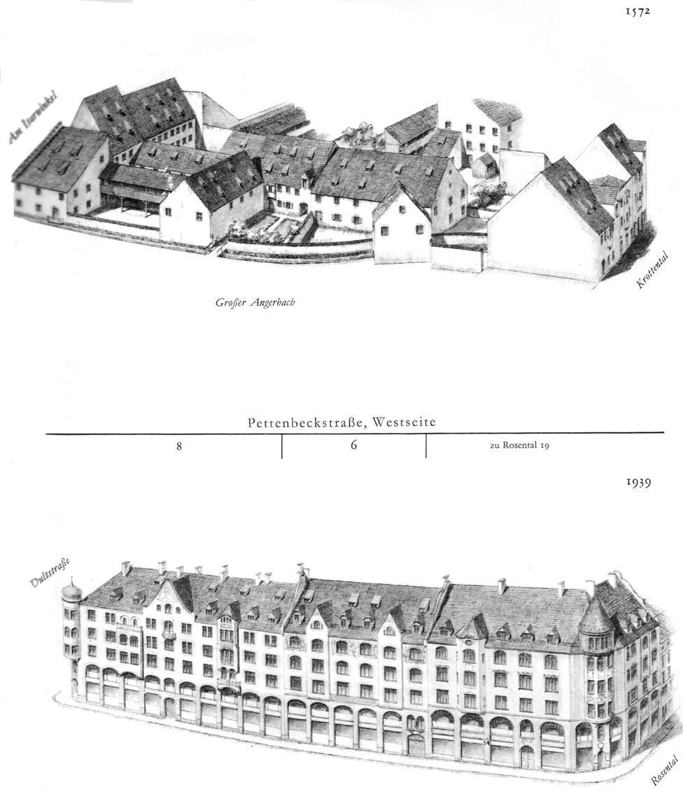 Pettenbeckstraße,   Westseite