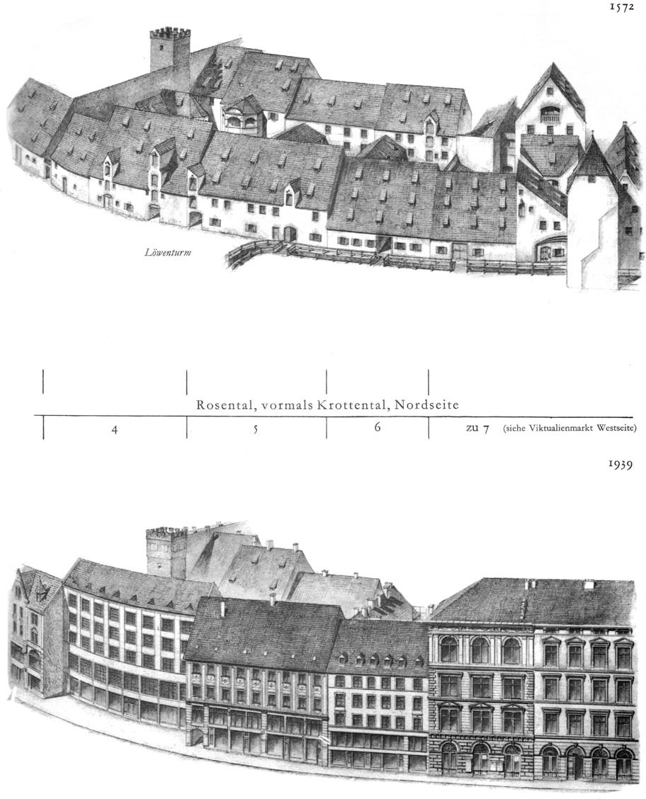 Rosental, Nordseite