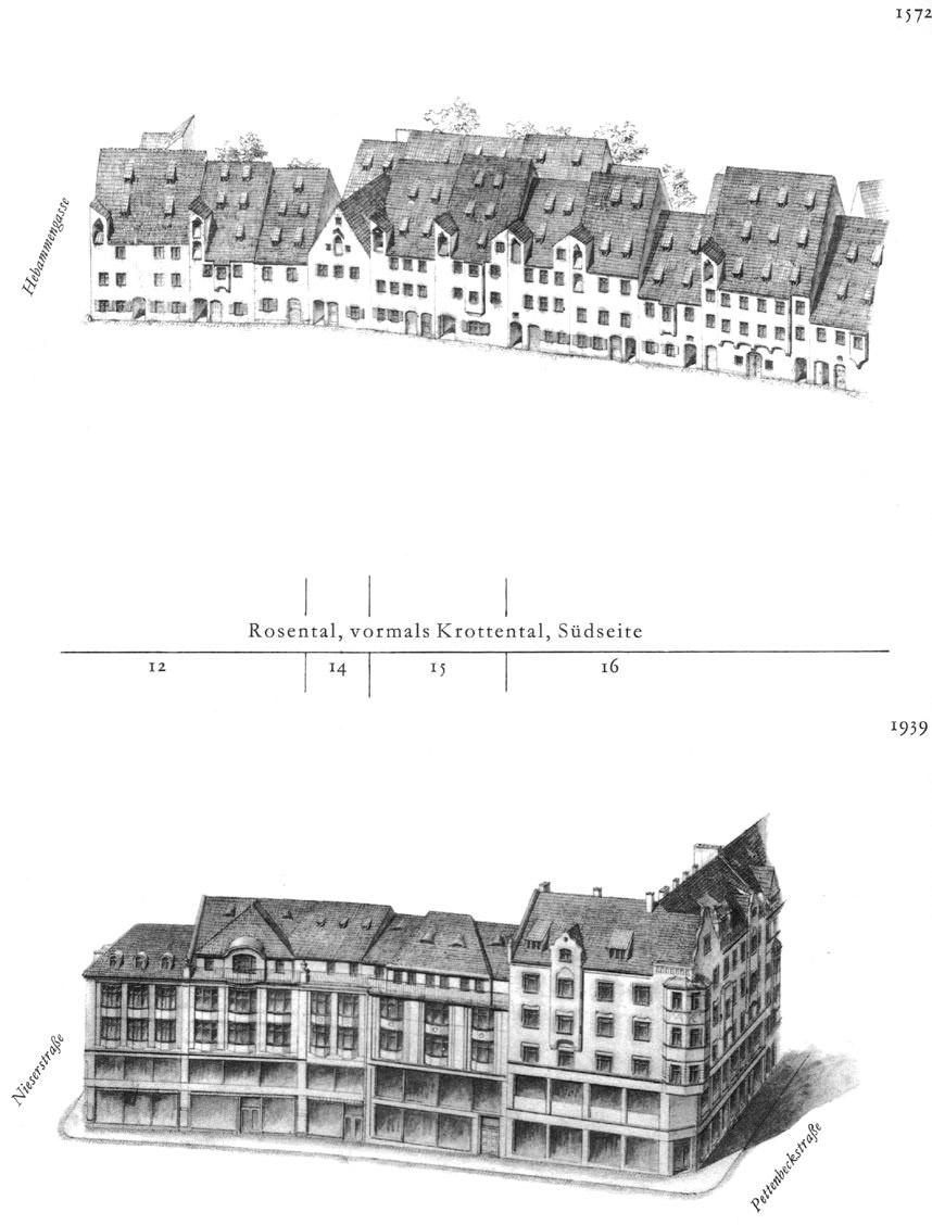 Rosental, Südseite
