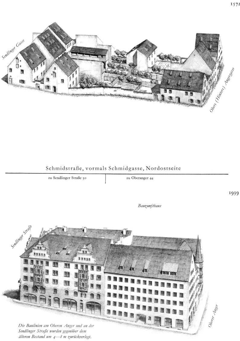 Schmidstraße, Nordostseite