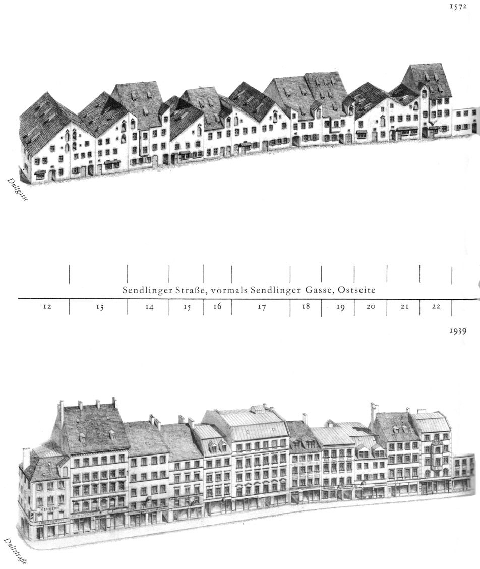 Sendlinger Straße, Ostseite