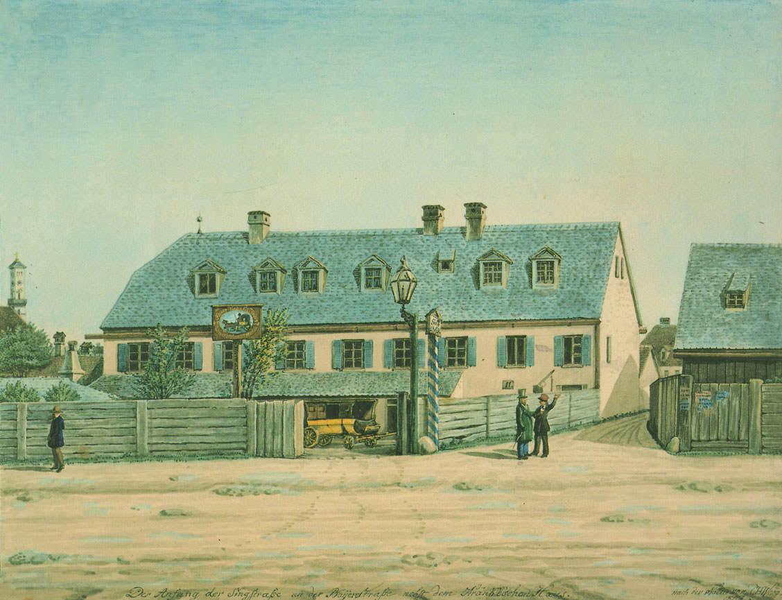 Das Anwesen des Lohnkutschers Krenkl
