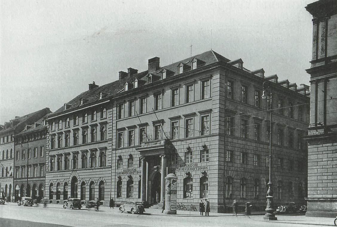 Bankhaus in der Ludwigstraße