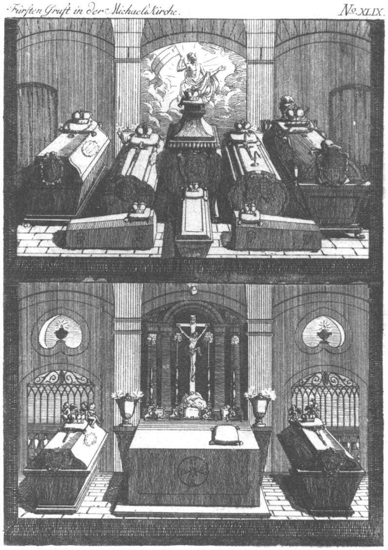 Fürtstengruft in der Michaelskirche