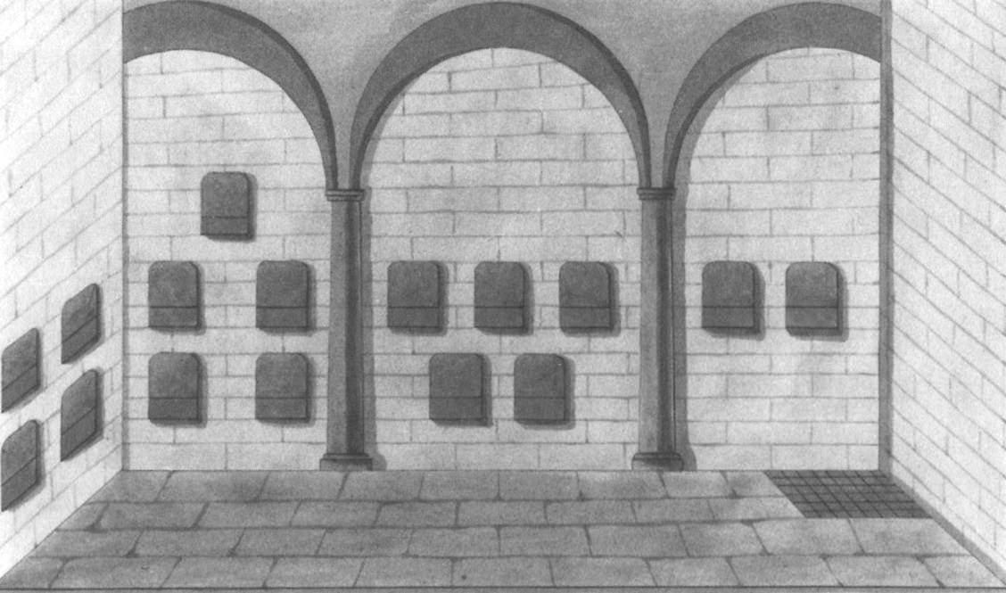 Gruft des Ridlerklosters