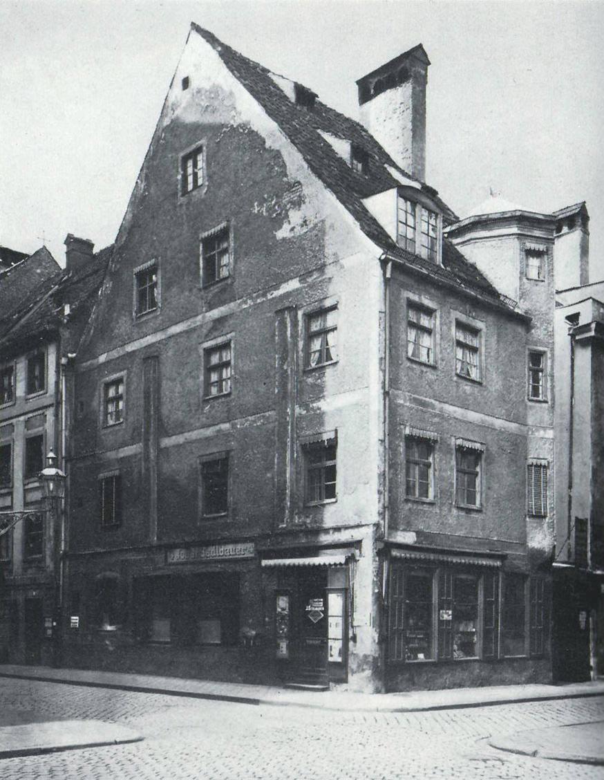 Giebelhaus in   der Karmeliterstraße