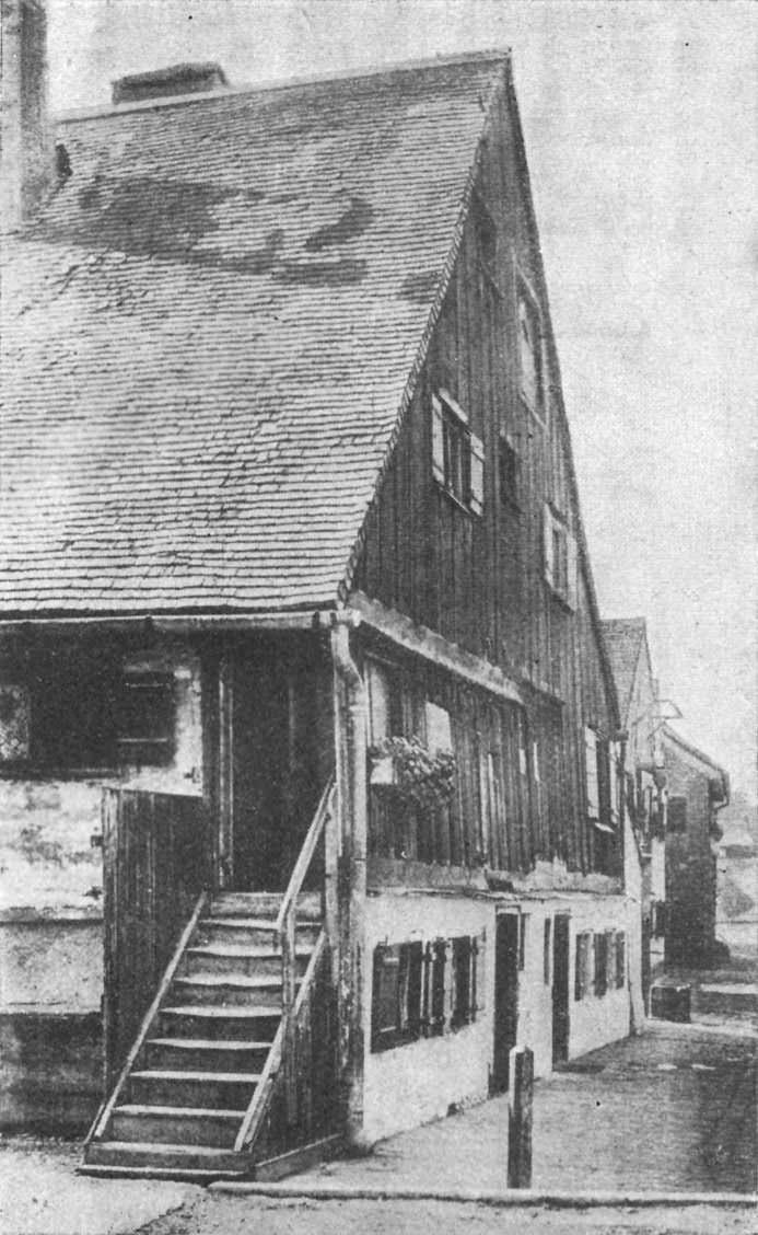 Alte Häuser in der  Au