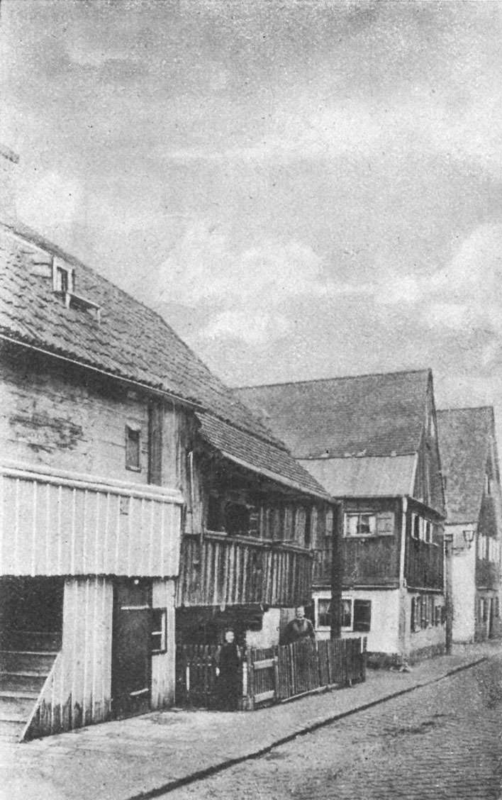Alte Häuser in Haidhausen