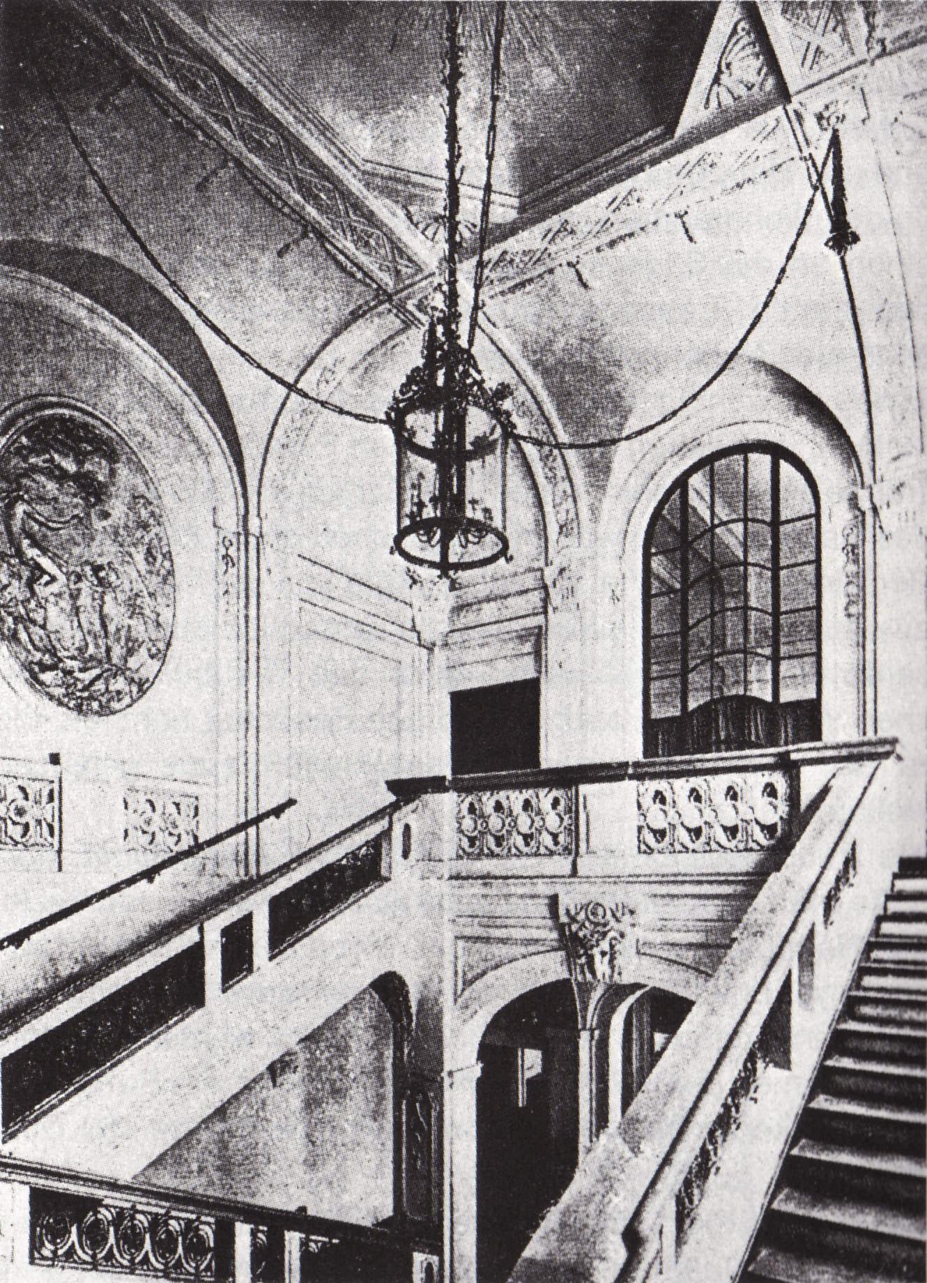 Kaimsaal Treppenhaus