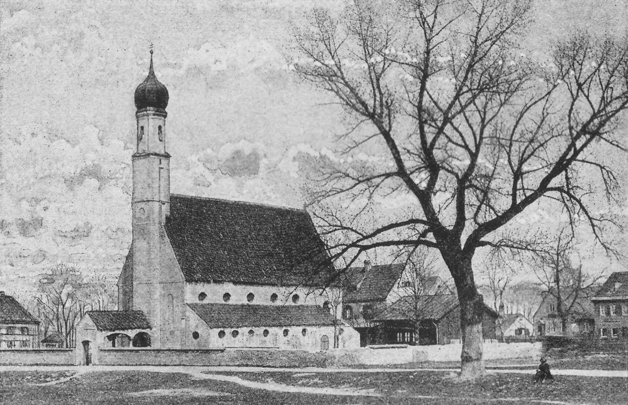 Nilolaikirche in Schwabing