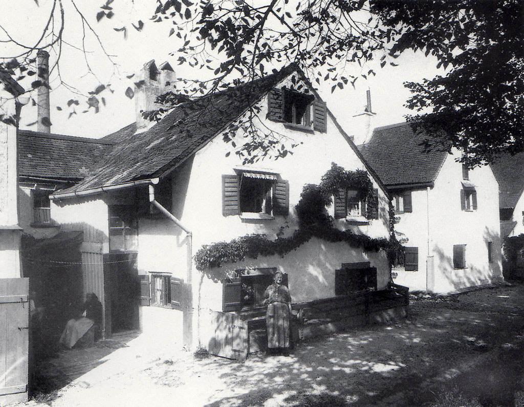 Herbergshäuser an der Äußeren Wiener Straße