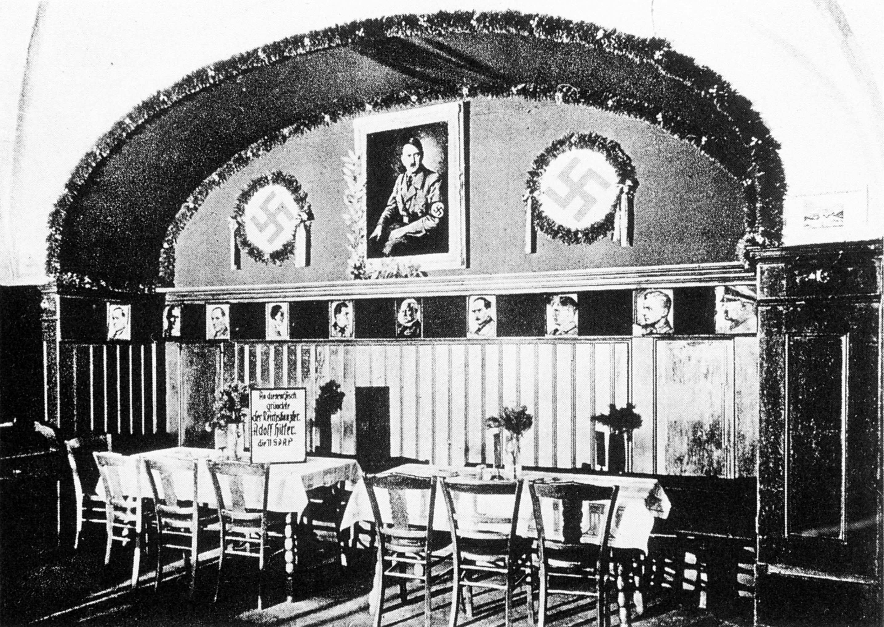 Sterneckerbräu - Gründungszimmer der NSDAP