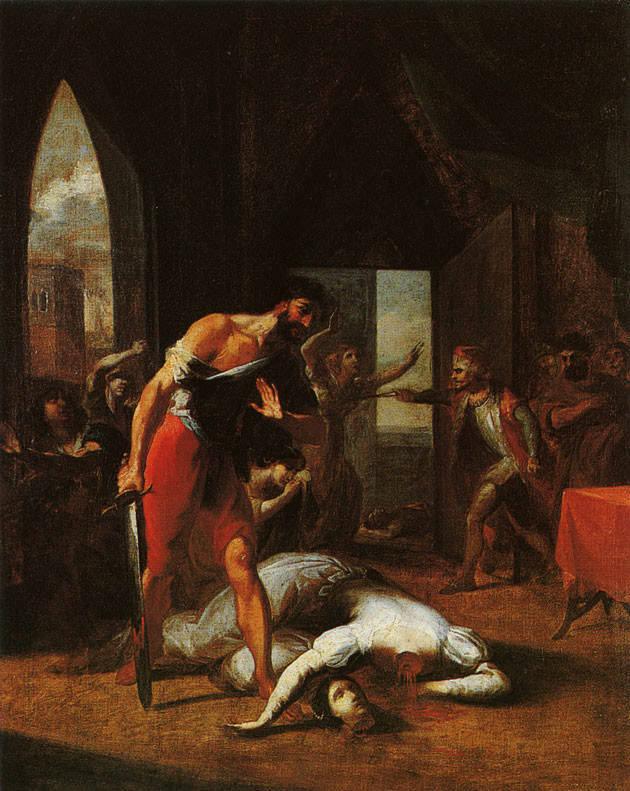 Enthauptung der Herzogin Maria von Brabant