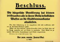 Die Regierung ist vollständig nach Bamberg umgezogen