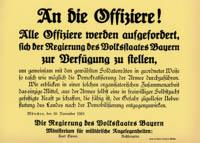 Die Berliner Regierung beschließt die Einführung von Volksgerichten