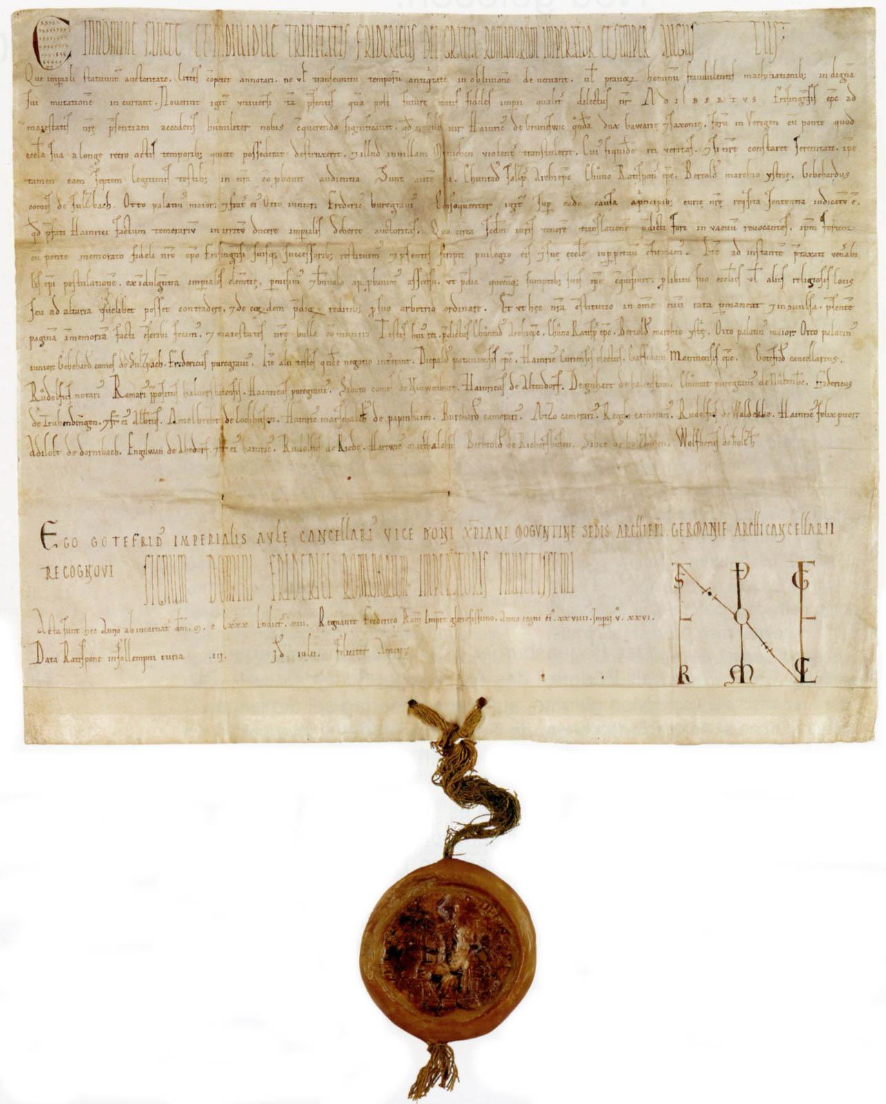 Regensburger Schied von 1180