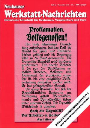 - Neuhauser Werkstatt-Nachrichten Heft 41