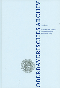 Oberbayerisches Archiv - Band 140