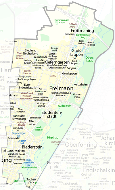 Stadtbezirke