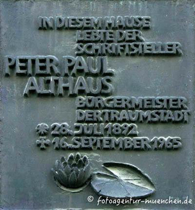 Althaus Peter Paul