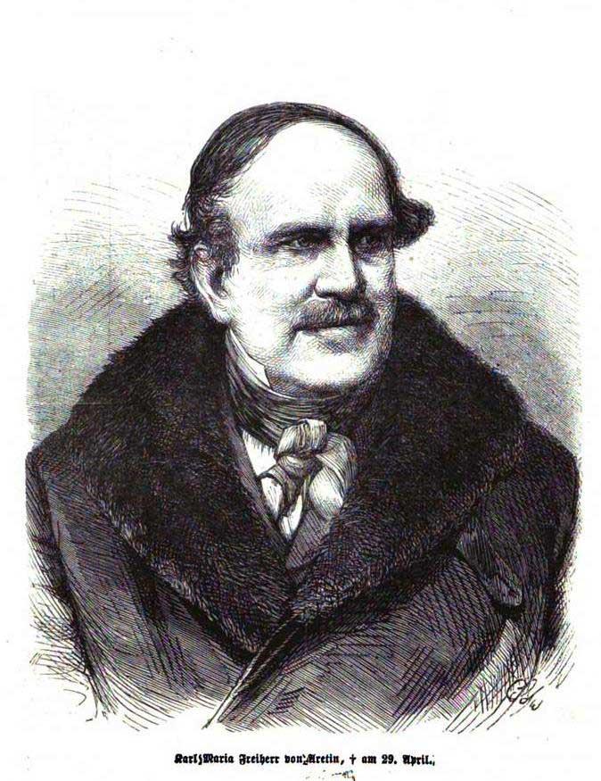 Aretin Karl Maria Freiherr von