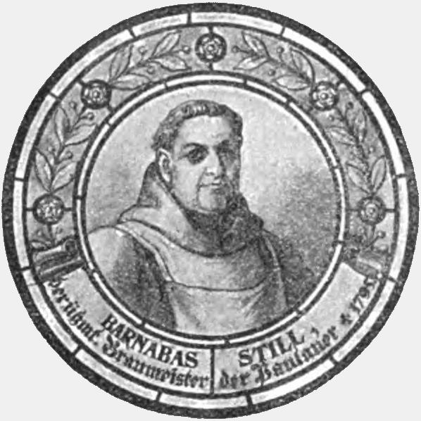 Still Valentin Salvator, Pater Barnabas