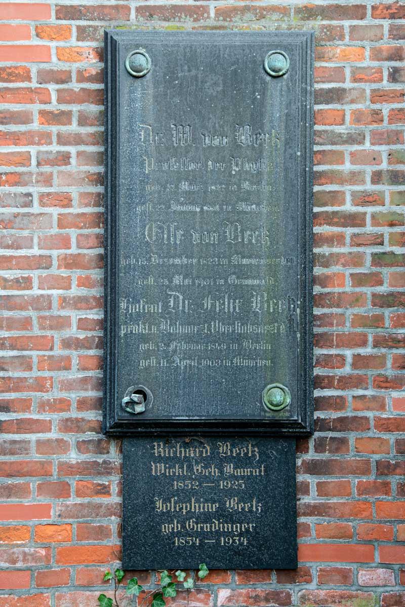 Beetz Friedrich Wilhelm Hubert von  Akademie der Wissenschaften