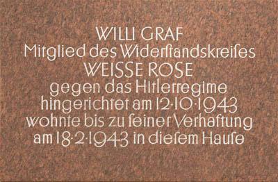 Graf Willi Weiße Rose