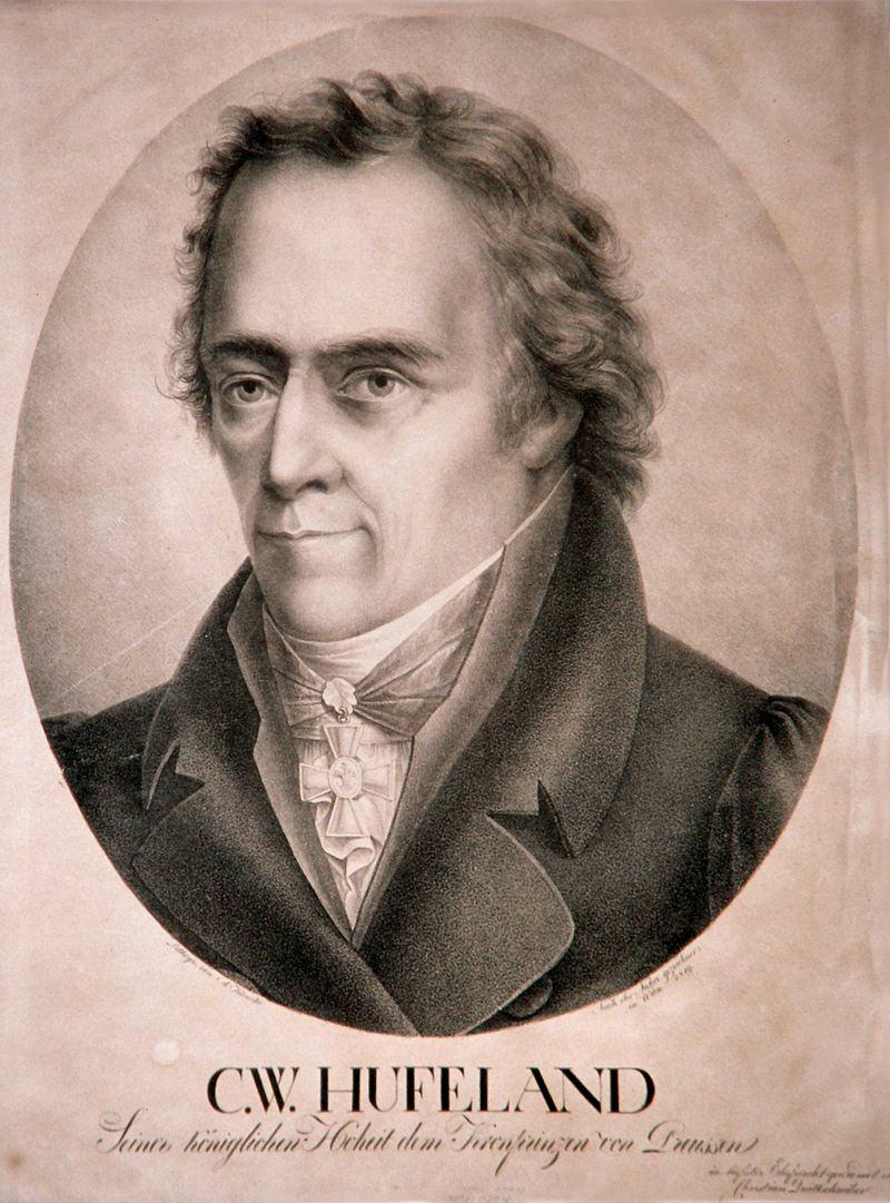 Hufeland Christoph Wilhelm