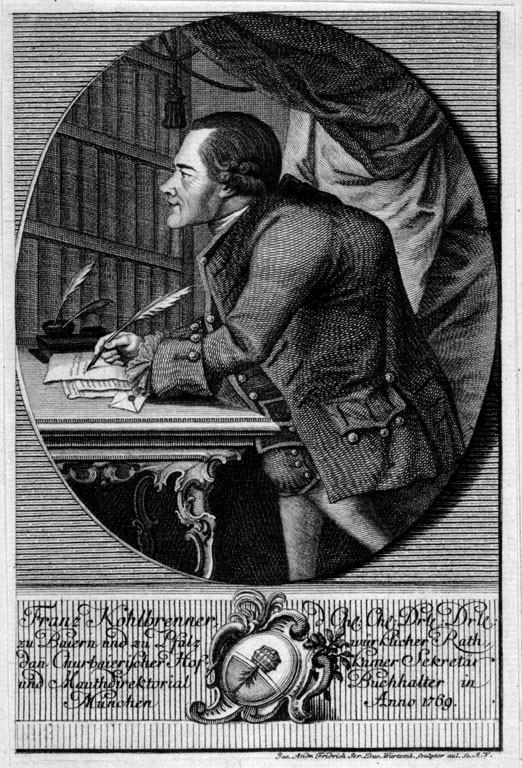 Kohlbrenner Johann Franz Seraph
