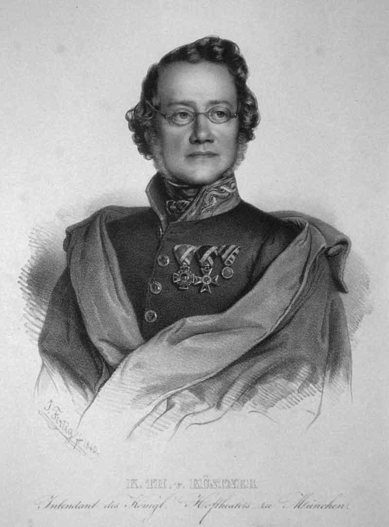 Küstner Karl Theodor von Hoftheater